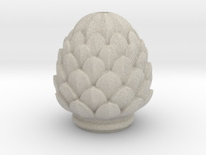 Pine Cone in Natural Sandstone
