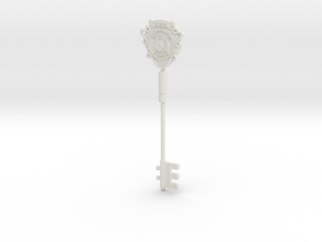 S.T.A.R.S. Office key (Unpainted model) in White Strong & Flexible