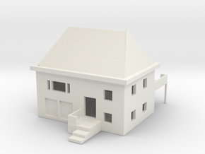 House in White Natural Versatile Plastic