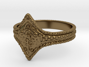 Ring of Favor and Protection in Polished Bronze