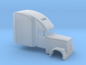1/87 Freightliner Classic XL High Sleeper in Smooth Fine Detail Plastic