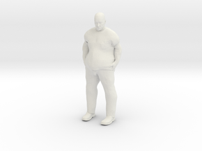 Big Guy 1/24 in White Strong & Flexible