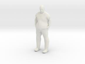 Big Guy 1/24 in White Natural Versatile Plastic