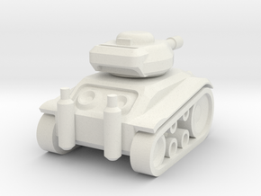 Panzer 68' in White Natural Versatile Plastic