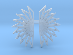 Fan Ring in Smoothest Fine Detail Plastic