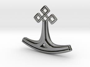Kalevala series pendant in Fine Detail Polished Silver