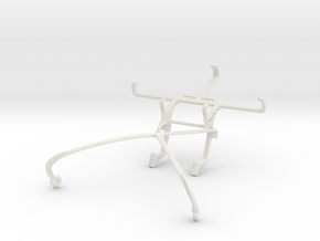 Controller mount for Shield 2015 & LG L70 in White Natural Versatile Plastic