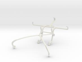 Controller mount for Shield 2015 & LG Nexus 5 in White Natural Versatile Plastic