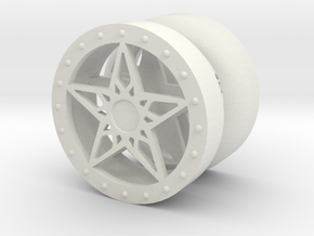 LoneStar YoYo in White Natural Versatile Plastic