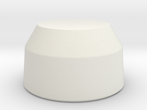 Comlink Cap Revision in White Natural Versatile Plastic