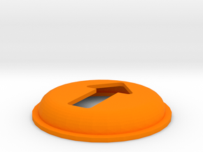 GPSBOX Arrow Cap in Orange Processed Versatile Plastic