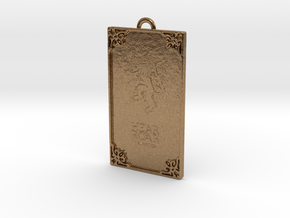 Game of Thrones - Lannister Pendant in Natural Brass