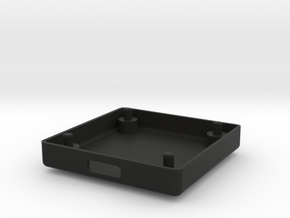 GPSBOX Lower Part in Black Natural Versatile Plastic