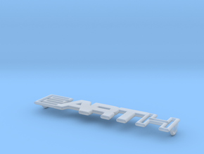 Earth - Art Pendant - 30mm in Smoothest Fine Detail Plastic
