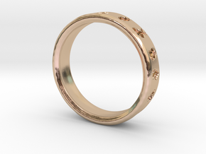 PokemonRing - Size 9 Test in 14k Rose Gold Plated Brass