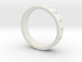 PokemonRing - Size 9 Test in White Natural Versatile Plastic