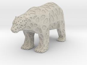 Polarbear in Natural Sandstone