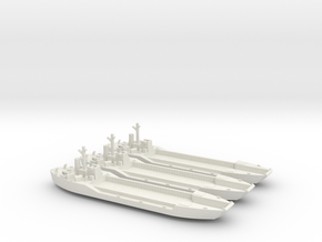 1/600 LCT-4 3 Off in White Natural Versatile Plastic