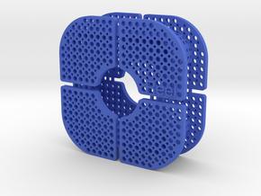 FilD Reel Earbud Holder in Blue Processed Versatile Plastic