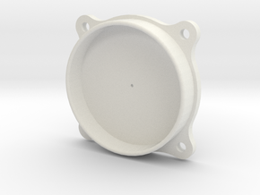 Small Japanese Instrument Bezel in White Natural Versatile Plastic
