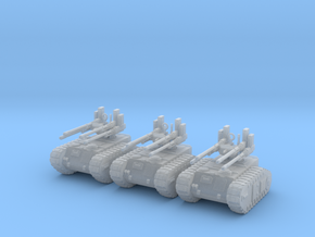 6mm Dieselpunk Mk.F Anti-aircraft vehicle in Smooth Fine Detail Plastic