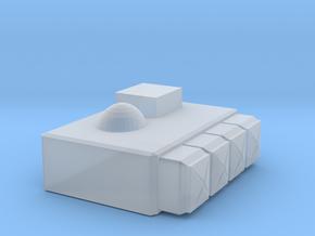 hotwheels scale Rocket pod in Smooth Fine Detail Plastic