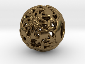 PA CharmV1D14SE552 in Polished Bronze