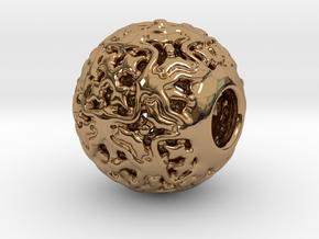 PA CharmV1D14SE546 in Polished Brass