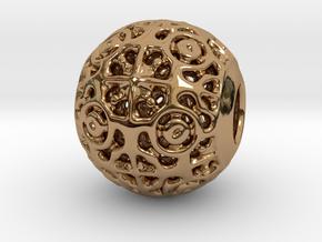 PA CharmV1D14SE535 in Polished Brass