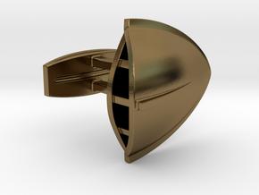 Triton Cufflinks in Polished Bronze