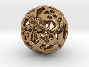 PA CharmV1D14SE62 in Polished Brass
