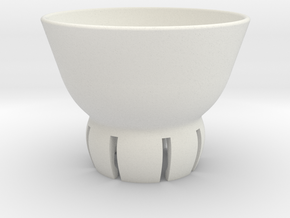 CUPTOP in White Natural Versatile Plastic