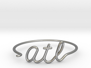 ATL Wire Bracelet (Atlanta) in Natural Silver