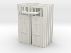 Door Type 16 X 10 - 4mm in White Strong & Flexible