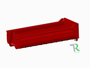 H0 1:87 AB-Mulde in Smooth Fine Detail Plastic
