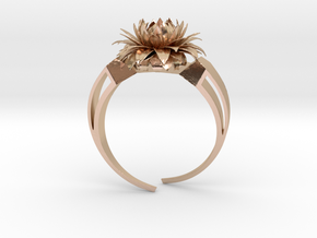 Aster Ring Stl in 14k Rose Gold Plated Brass