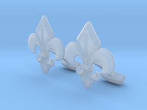 Designer Cufflink in Smooth Fine Detail Plastic