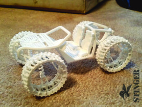 Super Buggy Concept in White Natural Versatile Plastic