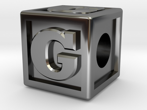 "Name Pieces; Letter ""G"" in Premium Silver"
