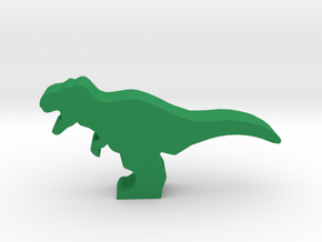 Dino Meeple, T-Rex in Green Strong & Flexible Polished