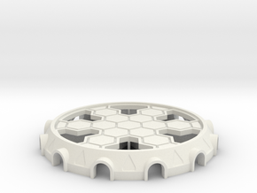 Cooling Tower Bottom Base in White Strong & Flexible