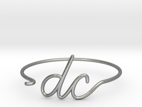 DC Wire Bracelet (Washington, D.C.) in Natural Silver