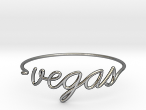 VEGAS Wire Bracelet (Las Vegas) in Polished Silver