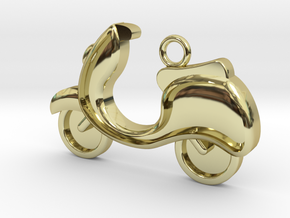 Scooter Charm in 18k Gold Plated