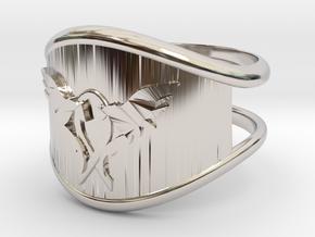 L.O.V.E. Ring size 9 in Platinum