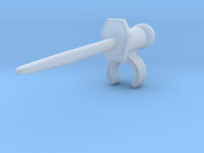 Bayonette Swordform in Smooth Fine Detail Plastic