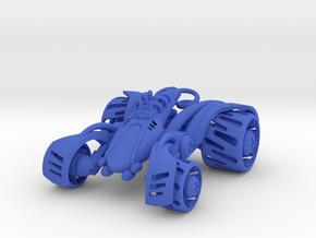 ~Double Shock Car in Blue Processed Versatile Plastic