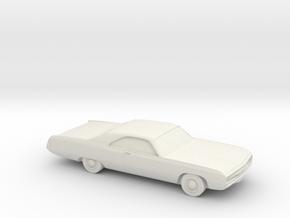 1/87 1970 Chrysler 300 in White Natural Versatile Plastic