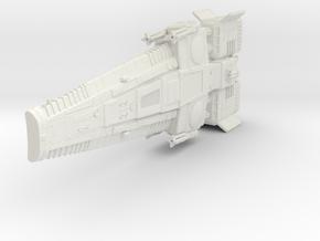 bolto class ship 100mm in White Natural Versatile Plastic
