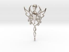 Spirit of Fantasy Faire in Rhodium Plated Brass